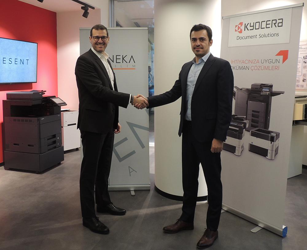 Kyocera ve Seneka Yazılım iş birliği