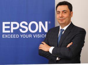 Epson Türkiye Ticari ve Endüstriyel Ürünler Ön Satış Uzmanı Hayri Şenol